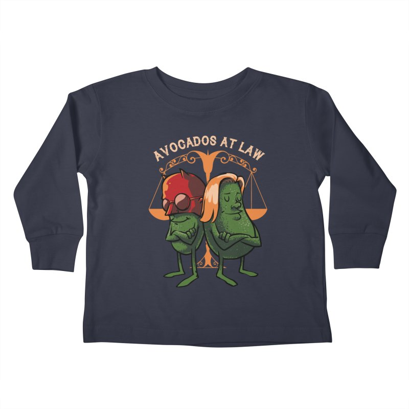 Avocados at law Kids Toddler Longsleeve T-Shirt by spike00