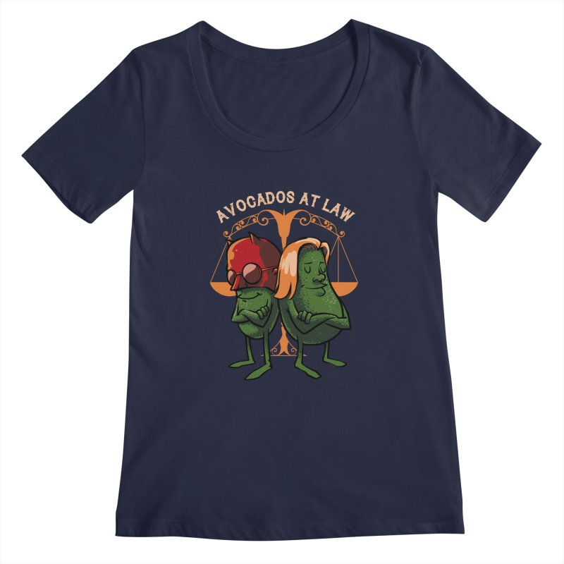 Avocados at law Women's Regular Scoop Neck by spike00