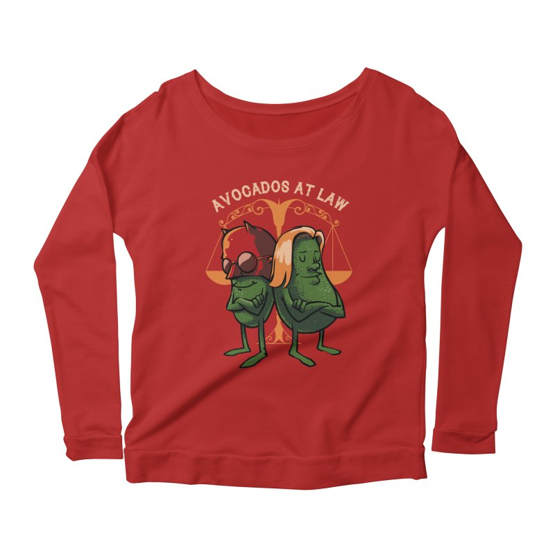 Avocados at law Women's Longsleeve Scoopneck  by spike00