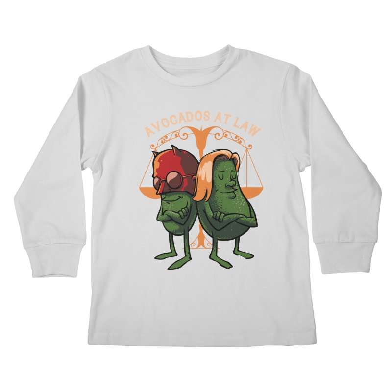 Avocados at law Kids Longsleeve T-Shirt by spike00
