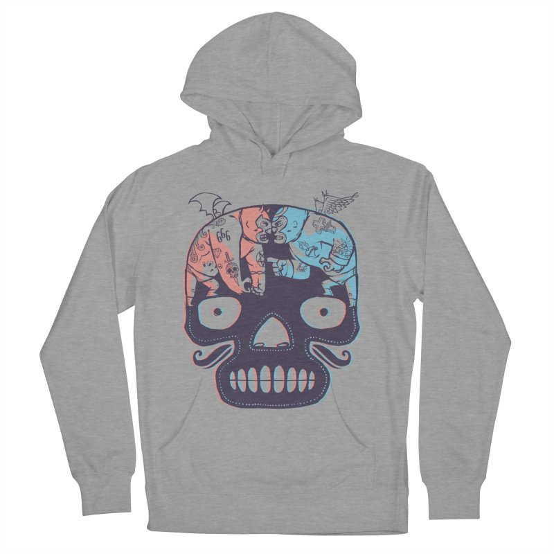 La eterna lucha Men's Pullover Hoody by spike00