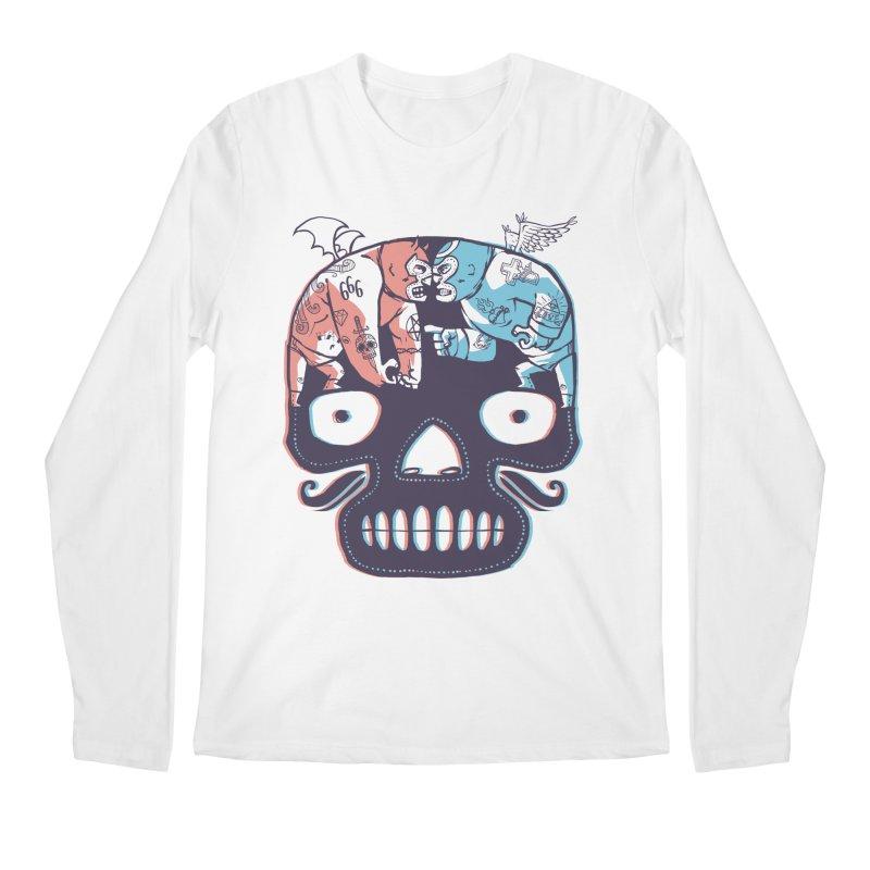 La eterna lucha Men's Longsleeve T-Shirt by spike00