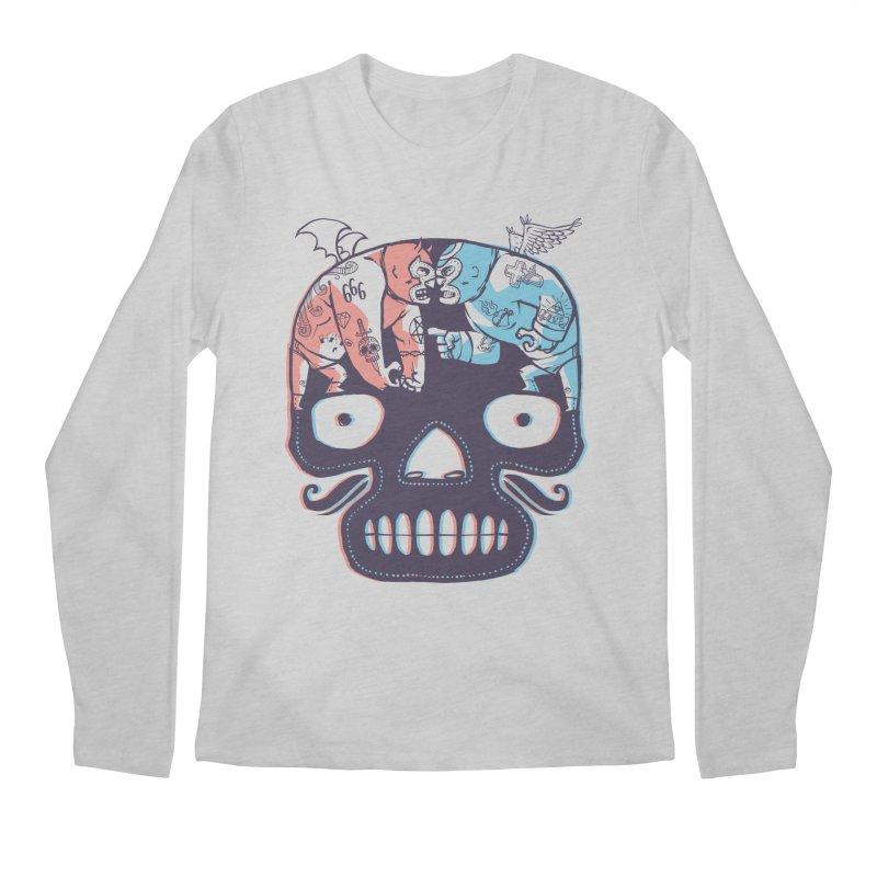 La eterna lucha Men's Regular Longsleeve T-Shirt by spike00