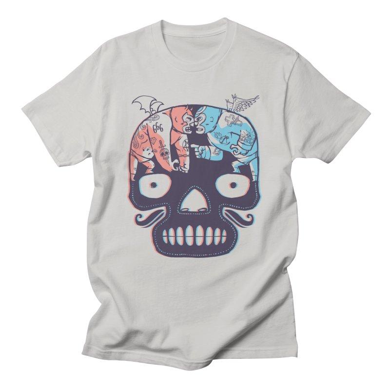 La eterna lucha Men's Regular T-Shirt by spike00