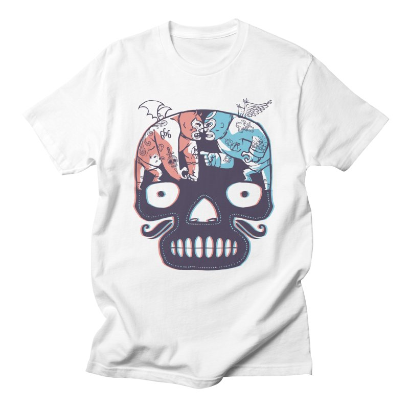 La eterna lucha Men's T-Shirt by spike00