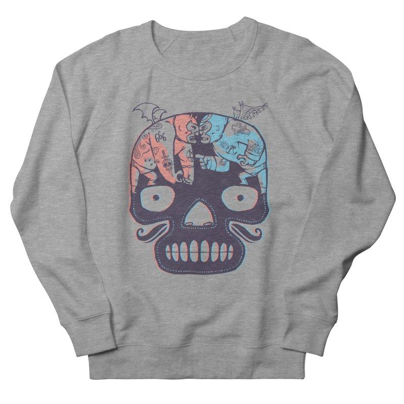 La eterna lucha Men's Sweatshirt by spike00