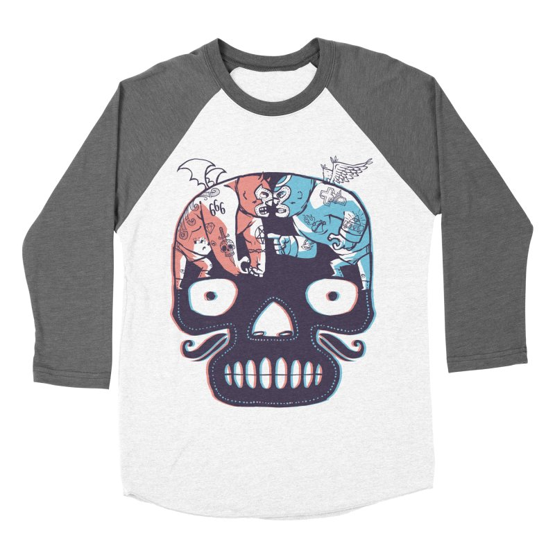 La eterna lucha Women's Baseball Triblend Longsleeve T-Shirt by spike00