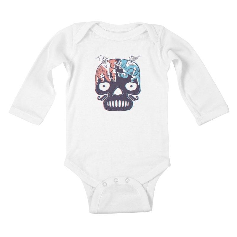 La eterna lucha Kids Baby Longsleeve Bodysuit by spike00