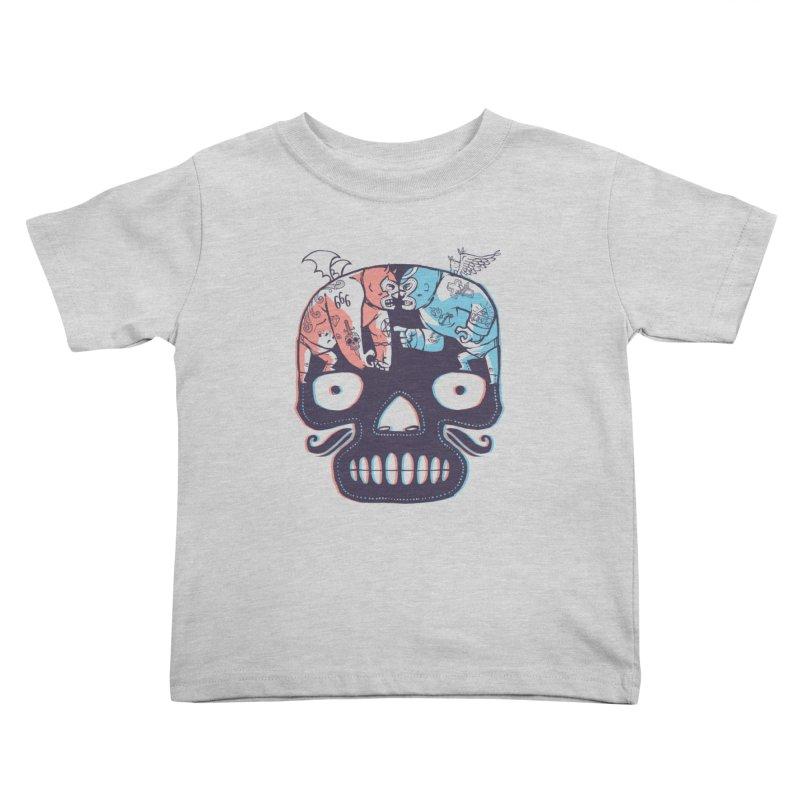 La eterna lucha Kids Toddler T-Shirt by spike00