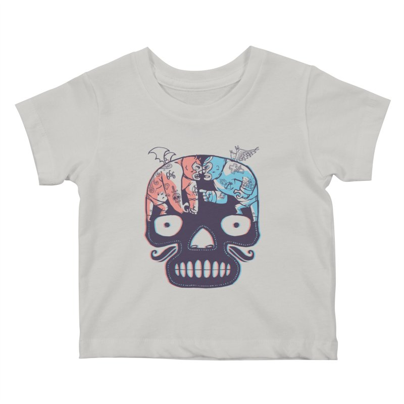 La eterna lucha Kids Baby T-Shirt by spike00