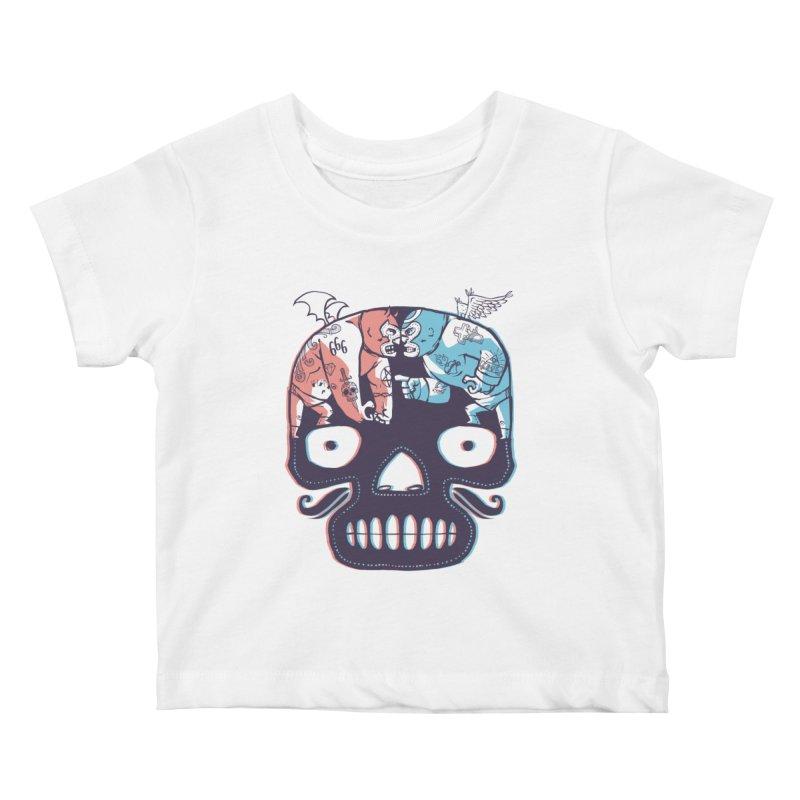 La eterna lucha Kids Baby T-Shirt by spike00