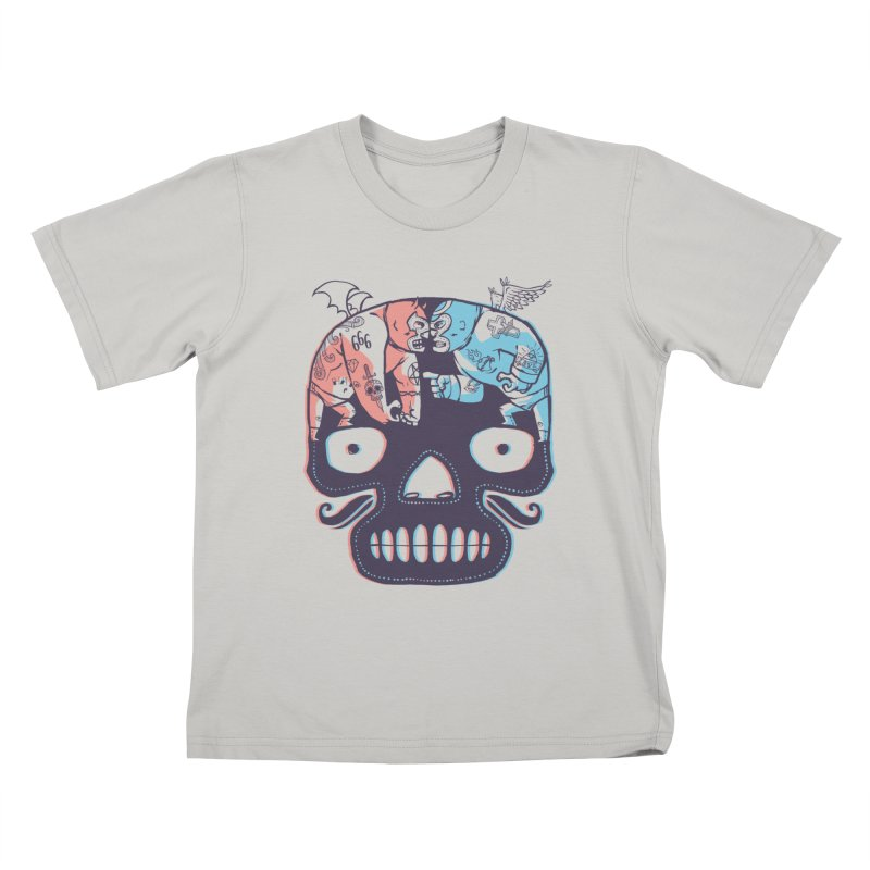 La eterna lucha Kids T-shirt by spike00