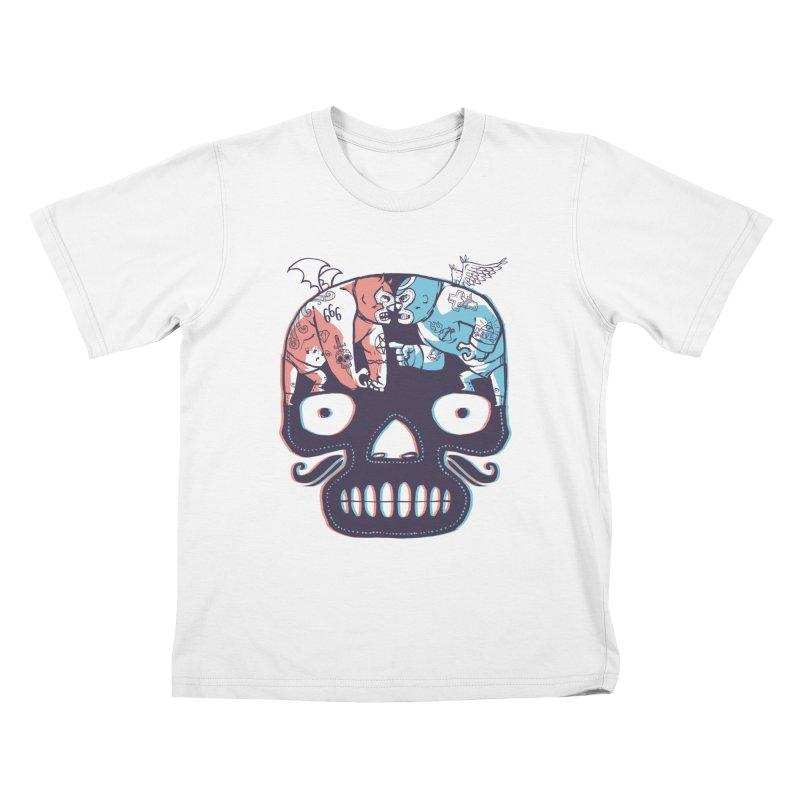 La eterna lucha Kids T-shirt by spike00