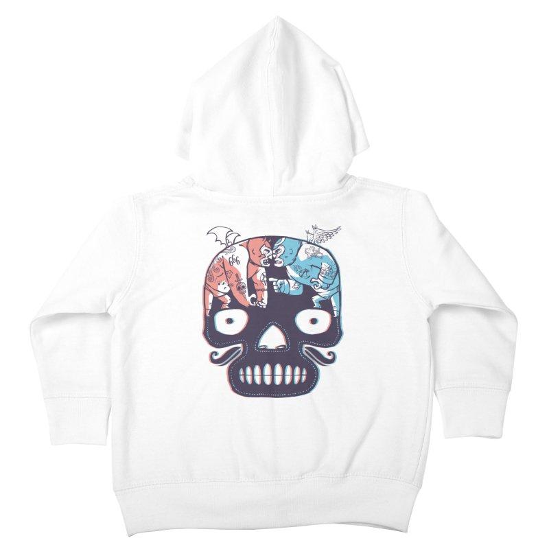 La eterna lucha Kids Toddler Zip-Up Hoody by spike00
