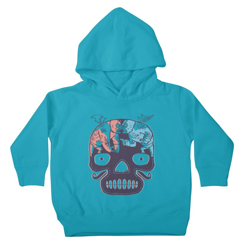 La eterna lucha Kids Toddler Pullover Hoody by spike00
