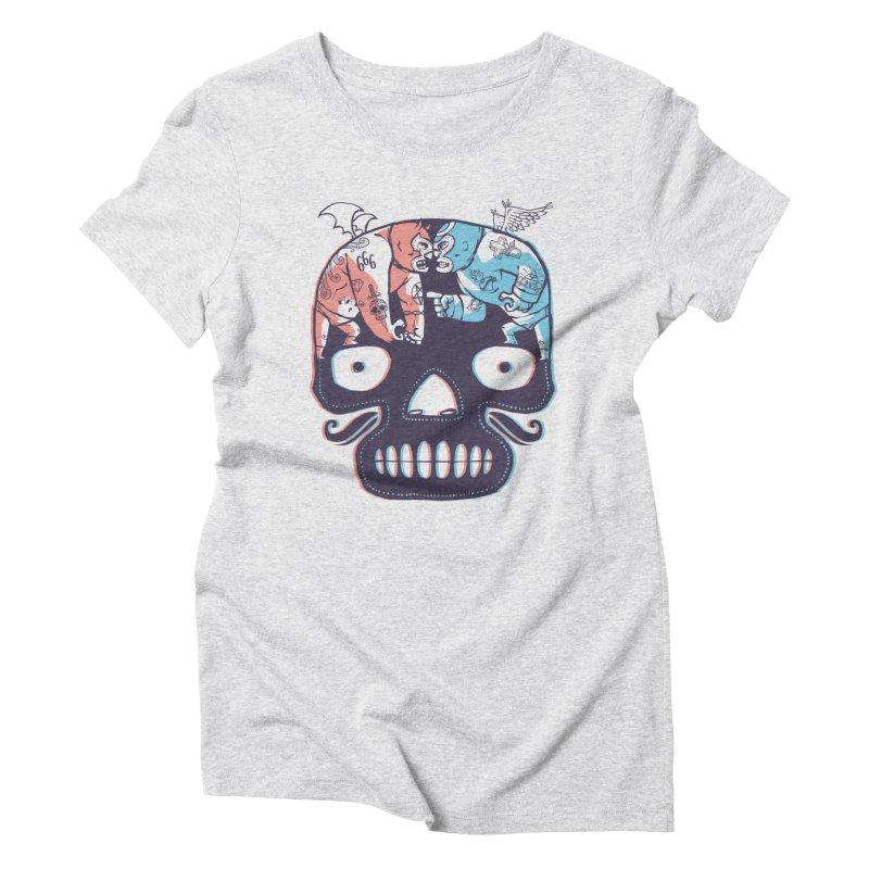 La eterna lucha Women's Triblend T-Shirt by spike00