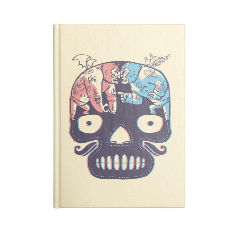 La eterna lucha Accessories Notebook by spike00