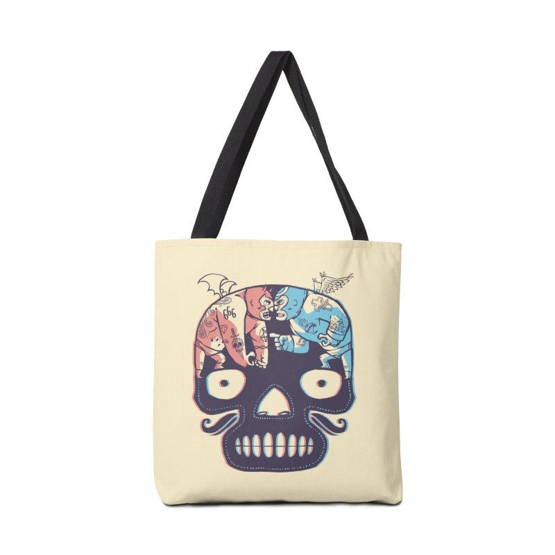 La eterna lucha Accessories Bag by spike00