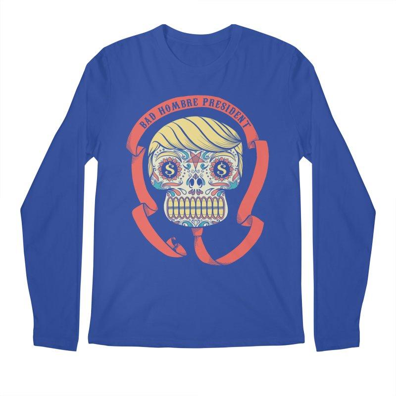 Bad Hombre President Men's Regular Longsleeve T-Shirt by spike00
