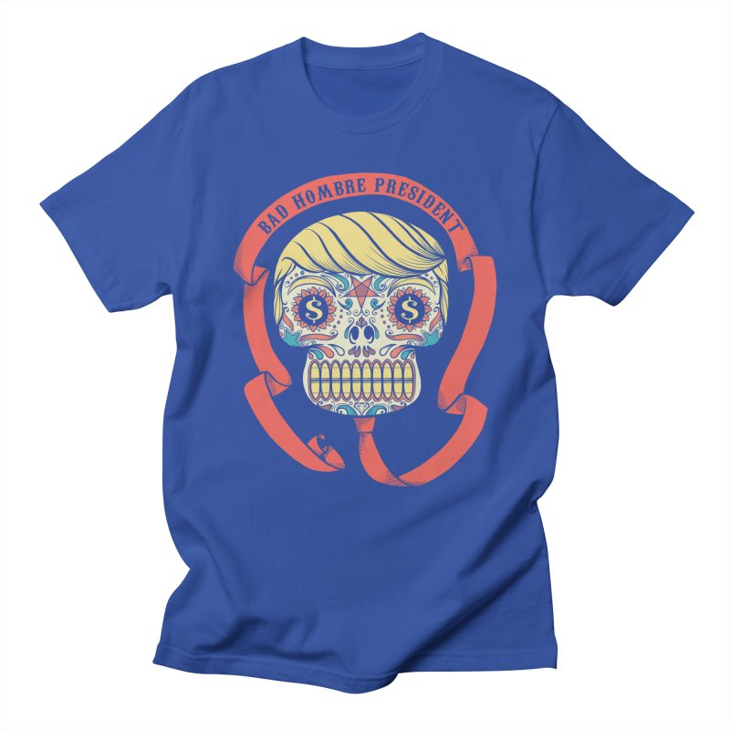 Bad Hombre President Men's Regular T-Shirt by spike00