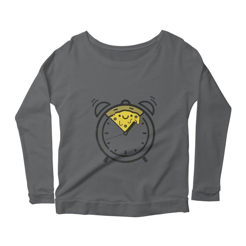 Pizza Time! Women's Longsleeve T-Shirt by spike00