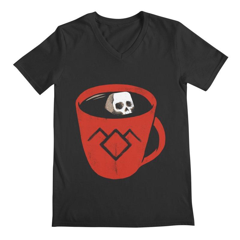 Black coffee Men's V-Neck by spike00