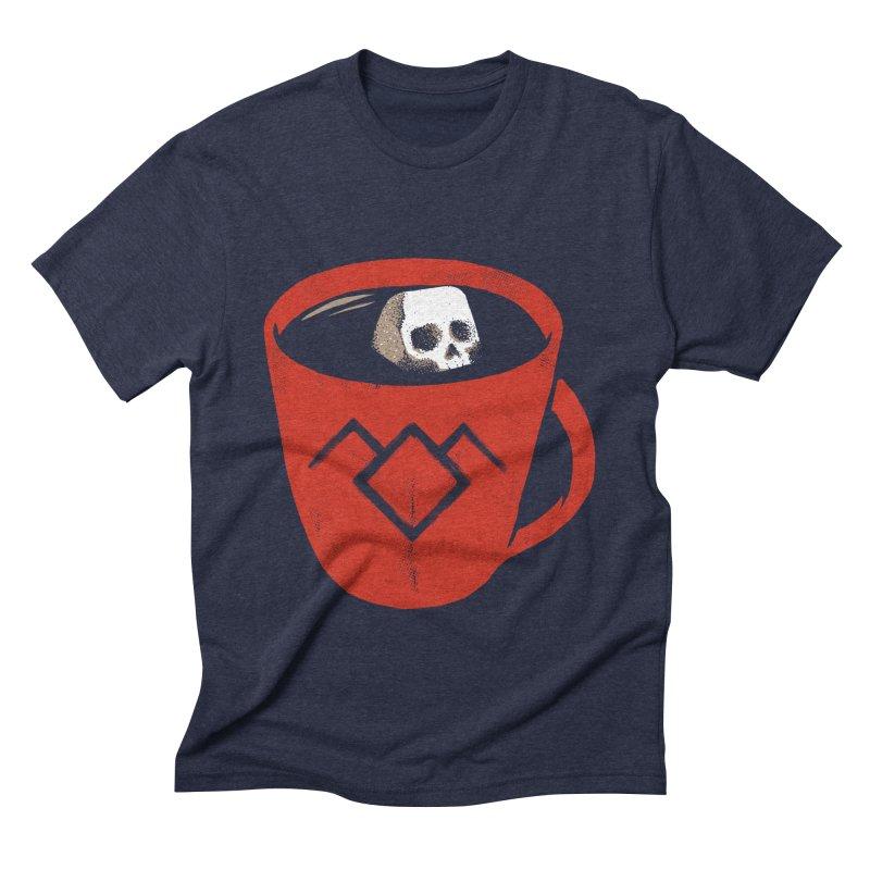 Black coffee Men's Triblend T-shirt by spike00