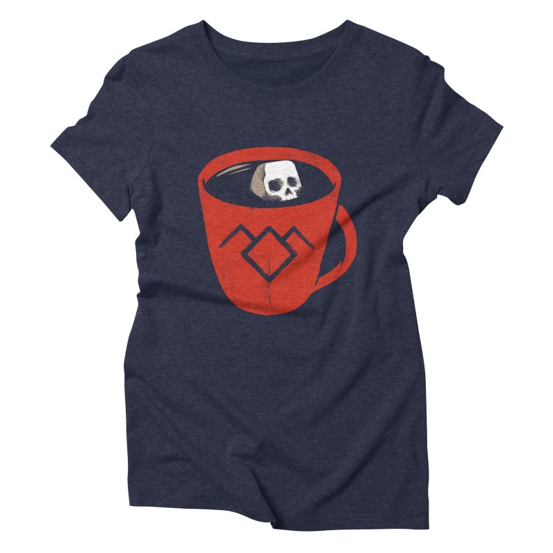 Black coffee Women's Triblend T-shirt by spike00