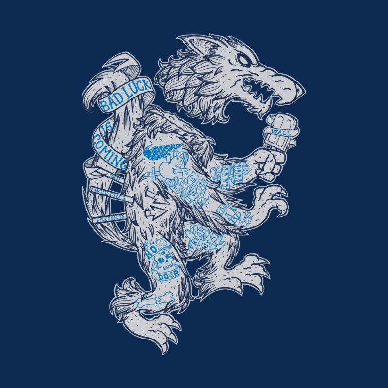 wolf spoiler crest Women's T-Shirt by spike00