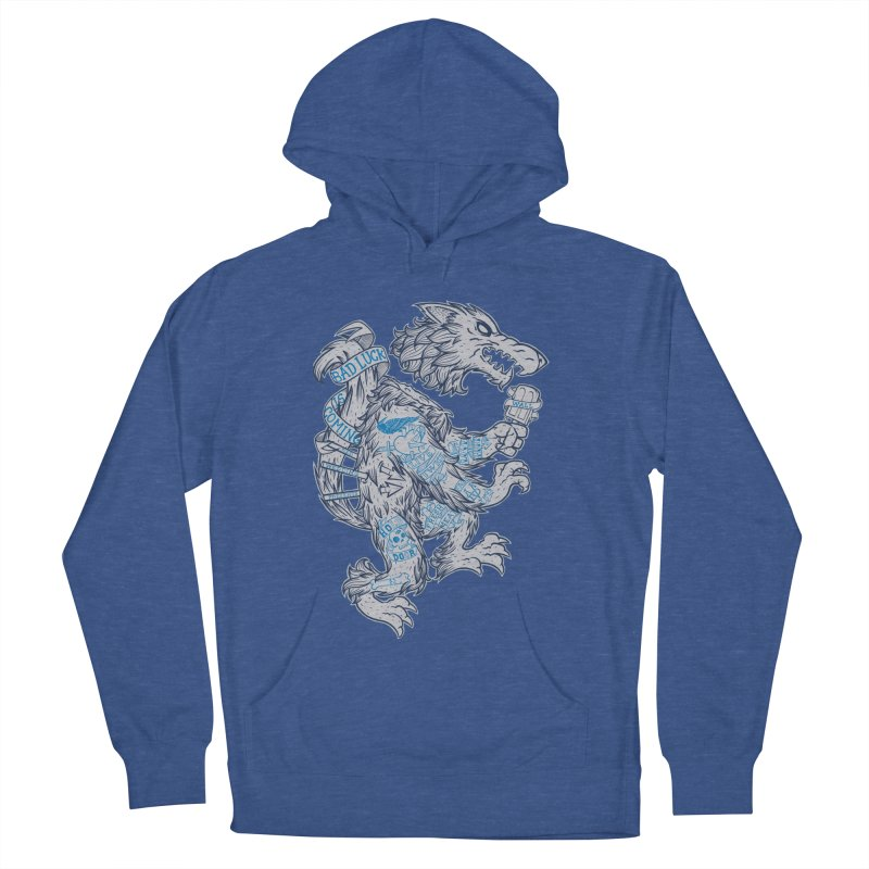 wolf spoiler crest Men's Pullover Hoody by spike00