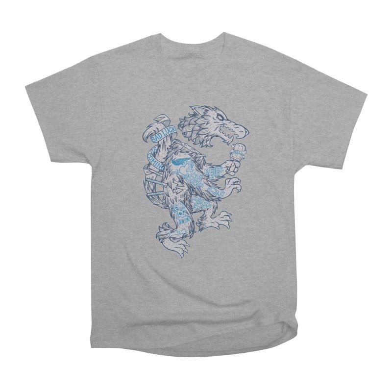 wolf spoiler crest Men's Heavyweight T-Shirt by spike00