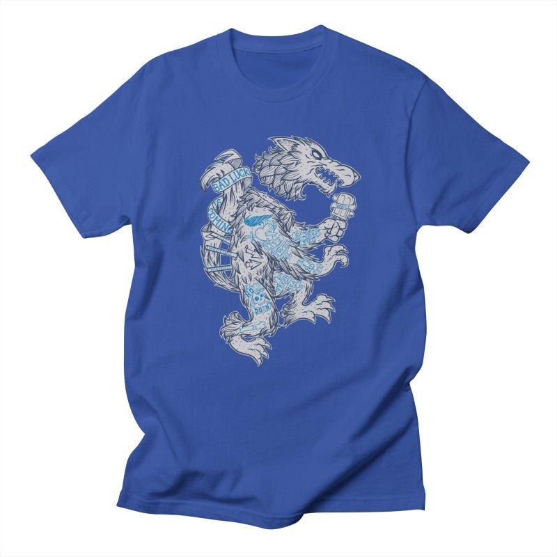 wolf spoiler crest Women's Unisex T-Shirt by spike00