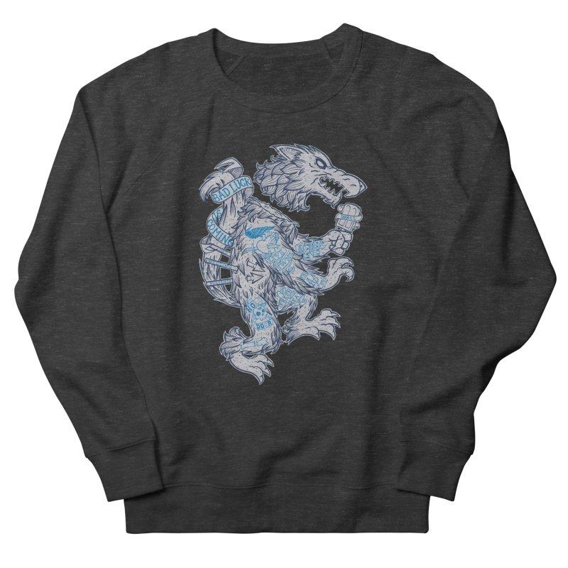 wolf spoiler crest Women's Sweatshirt by spike00