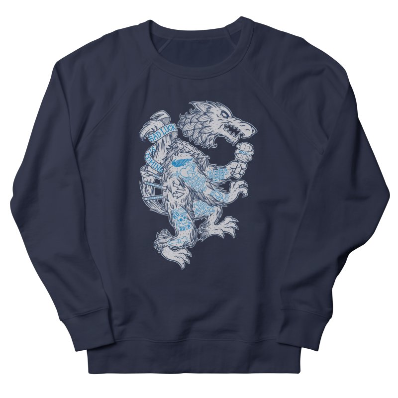 wolf spoiler crest Men's Sweatshirt by spike00