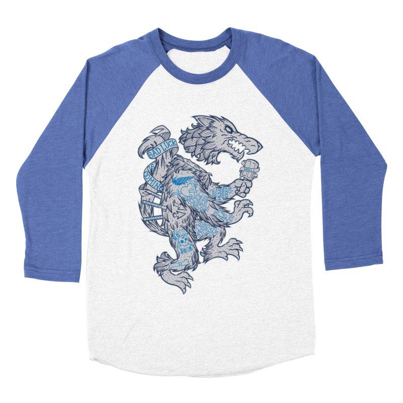 wolf spoiler crest Women's Baseball Triblend T-Shirt by spike00