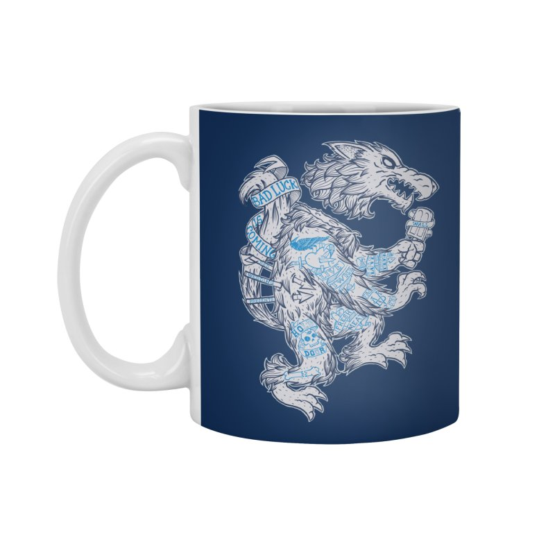 wolf spoiler crest Accessories Mug by spike00