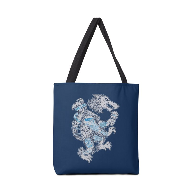 wolf spoiler crest Accessories Tote Bag Bag by spike00