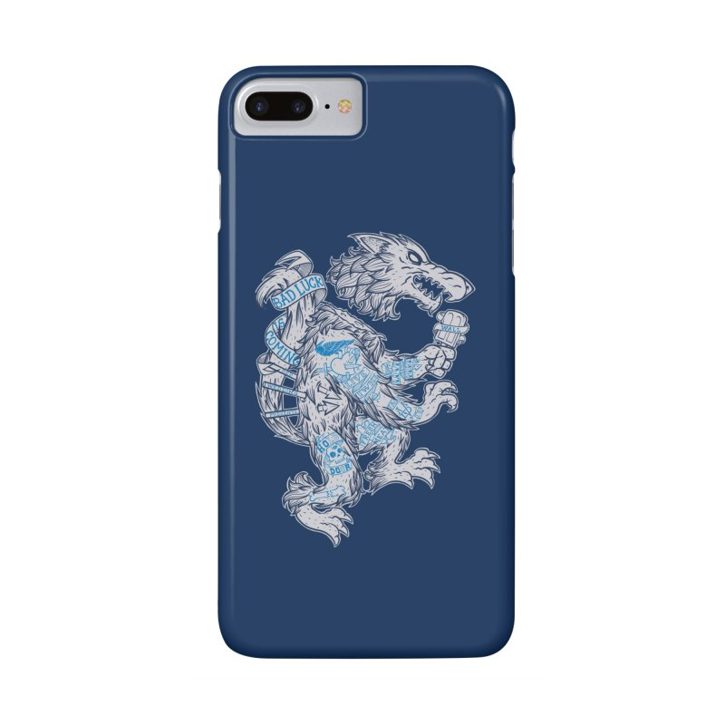 wolf spoiler crest Accessories Phone Case by spike00