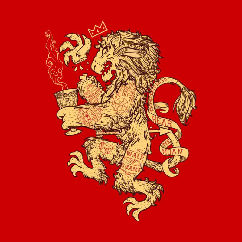 Lion Spoiler Crest Home Fine Art Print by spike00