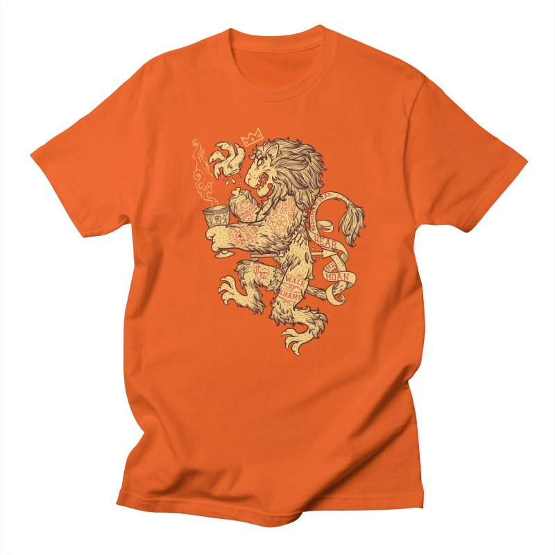 Lion Spoiler Crest Men's T-Shirt by spike00