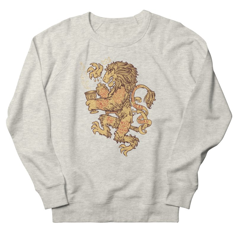 Lion Spoiler Crest Men's Sweatshirt by spike00