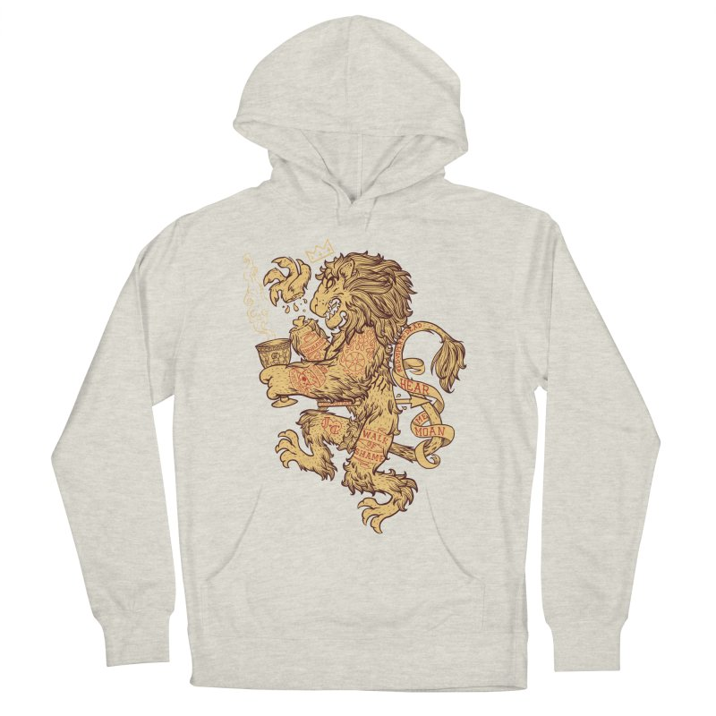 Lion Spoiler Crest Men's Pullover Hoody by spike00