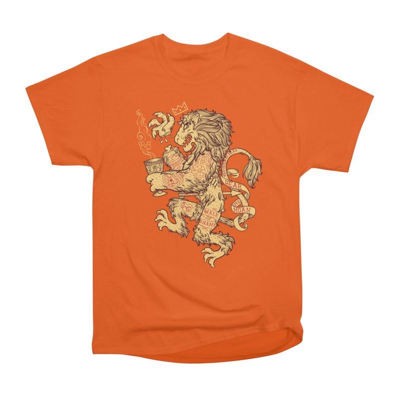 Lion Spoiler Crest Men's Heavyweight T-Shirt by spike00