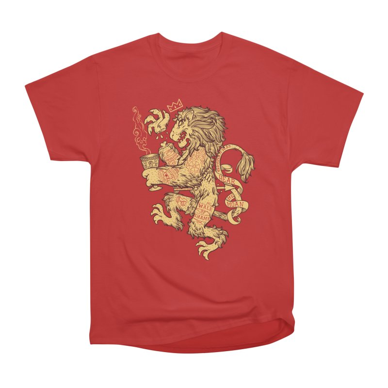 Lion Spoiler Crest Women's Heavyweight Unisex T-Shirt by spike00