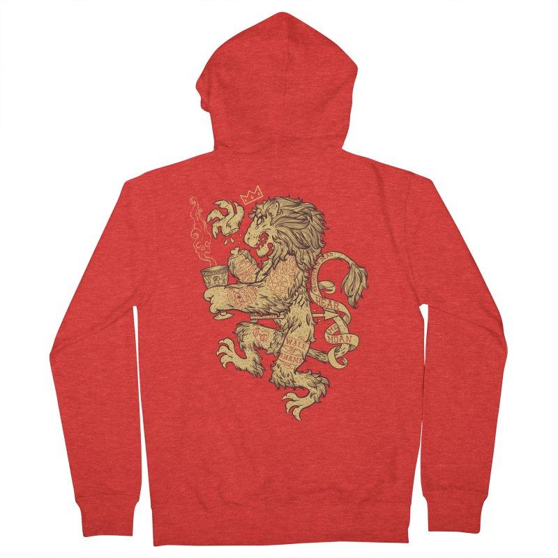 Lion Spoiler Crest Women's Zip-Up Hoody by spike00