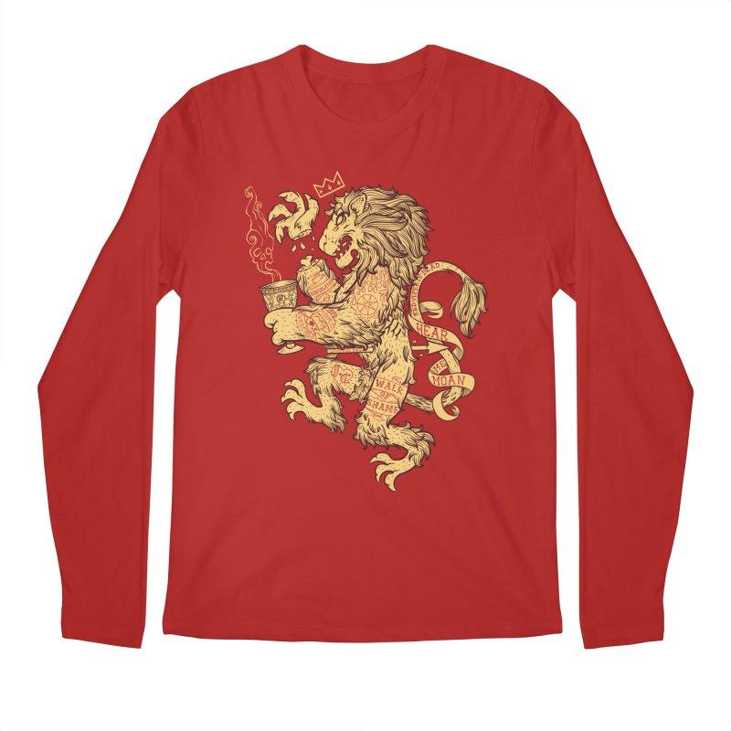 Lion Spoiler Crest Men's Longsleeve T-Shirt by spike00