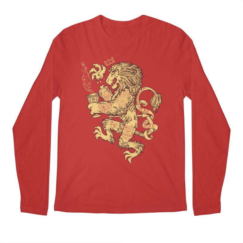 Lion Spoiler Crest Men's Regular Longsleeve T-Shirt by spike00