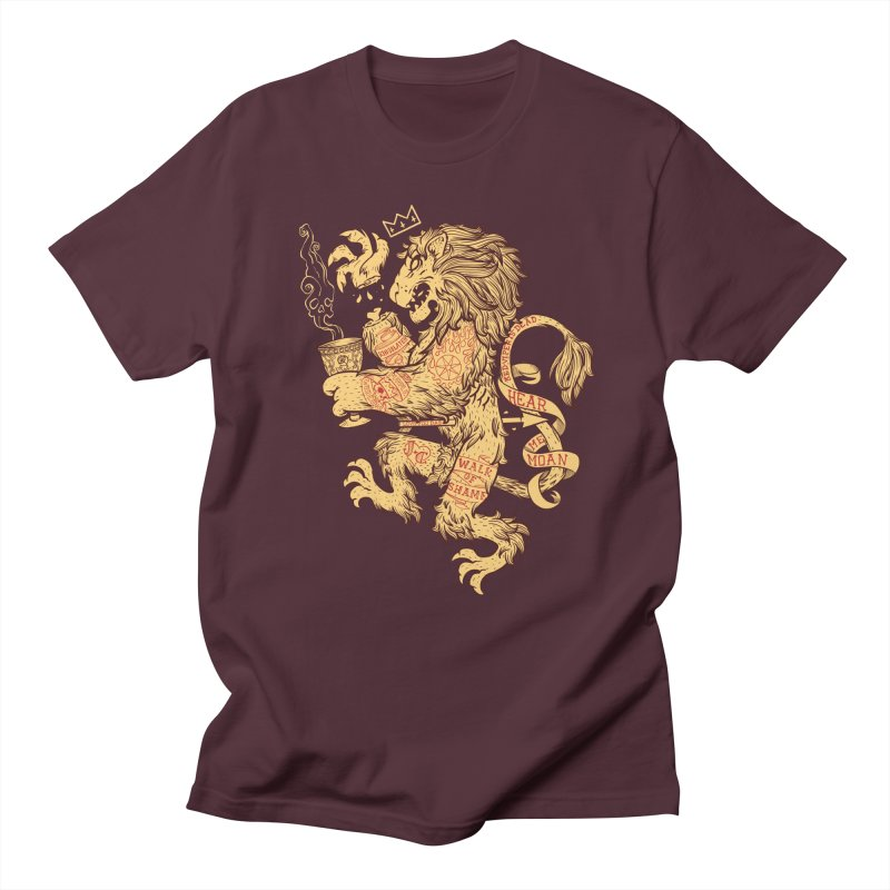 Lion Spoiler Crest Women's Regular Unisex T-Shirt by spike00