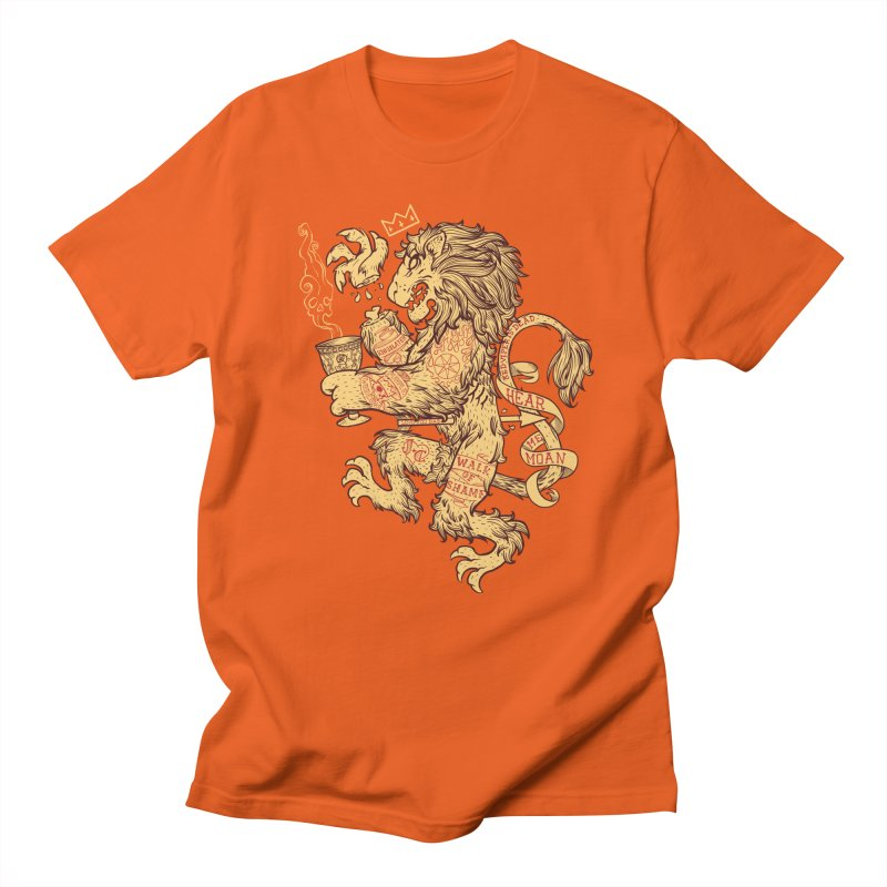 Lion Spoiler Crest Men's T-Shirt by spike00