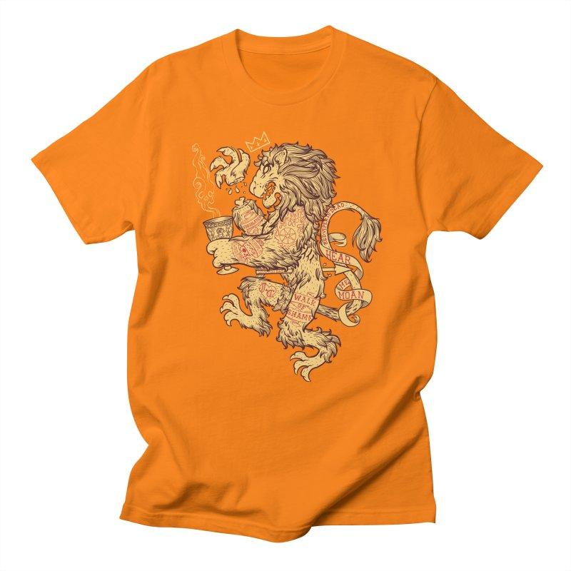 Lion Spoiler Crest Men's Regular T-Shirt by spike00